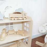 estanteria casita de munecas - juguetines
