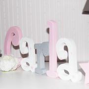 letras de madera - nombre en madera - nombre Carla - juguetines