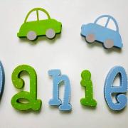 letras de madera - letras pared - letras personalizadas - letras decorativas - juguetines