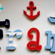 letras de madera -letras pared - letras decorativas - letras personalizadas - juguetines