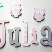 letras de madera - letras pared - letras decorativas - letras personalizadas - juguetines