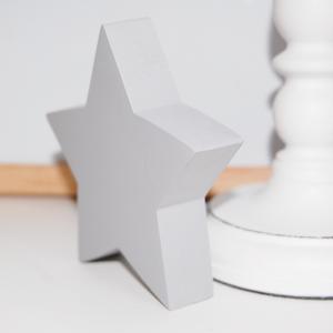estrella de madera - juguetines