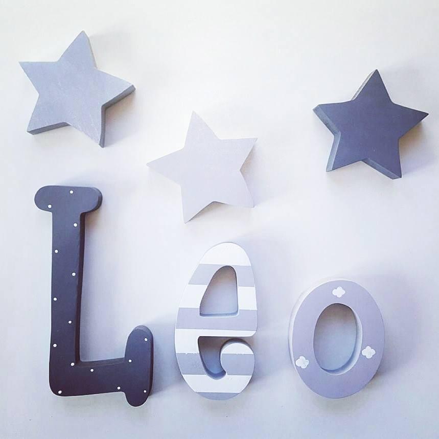 Pintar letras en pared papel pintado infantil letras - Letras para pared ...