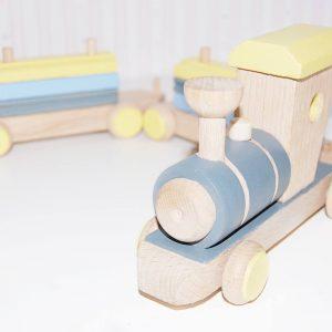 tren de madera - juguetes de madera - juguetes personalizados - juguetines