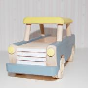 coche de madera - juguetes de madera - juguetines