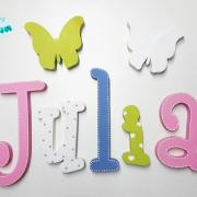 letras de madera - juguetines