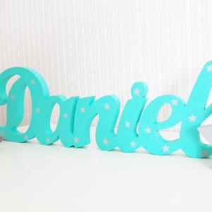 letras de madera - frases de madera - letras decorativas - juguetines
