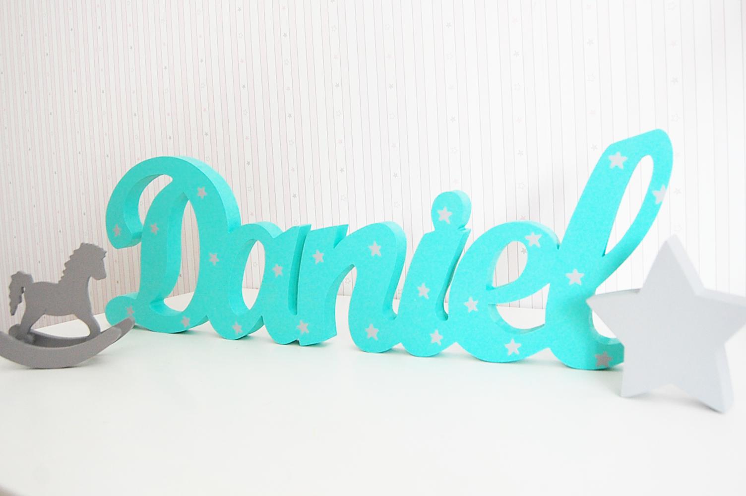 letras de madera frases de madera letras decorativas juguetines - Letras Decorativas