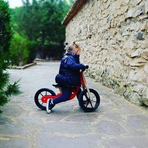 bicicleta de madera - bicicleta de arrastre - bicicleta sin pedales - juguetines