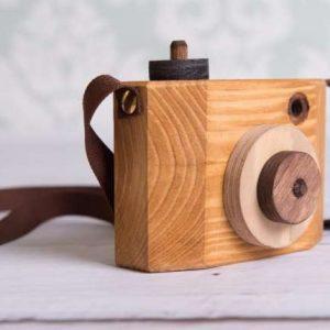 camara de fotos de madera - camara de fotos para niños - camara de fotos para jugar - juguetines