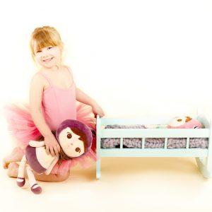 cuna de madera cuna para muñecas juguetes de madera juguetines