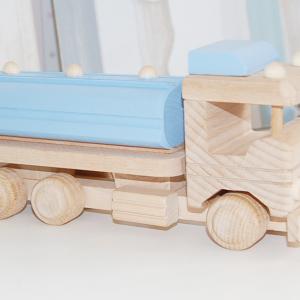 camion de madera - camion cisterna - coche cisterna - juguetines