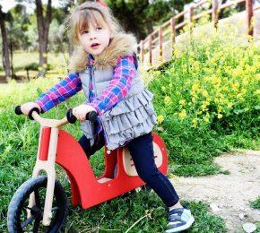 Bicicleta de Madera o Moto de Madera – Regalos perfectos para los más pequeños
