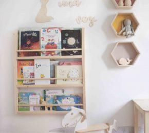 Estanterías Infantiles Montessori ideales para el rincón de lectura