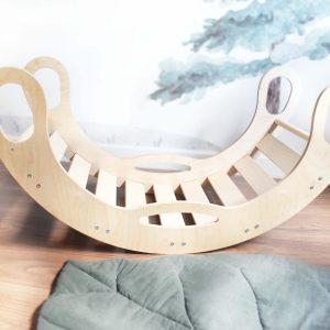 Arco balancin Pikler ideal para el desarrollo temprano de los niños